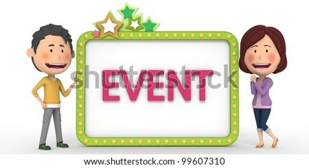 Event Notification(1) - stock photo