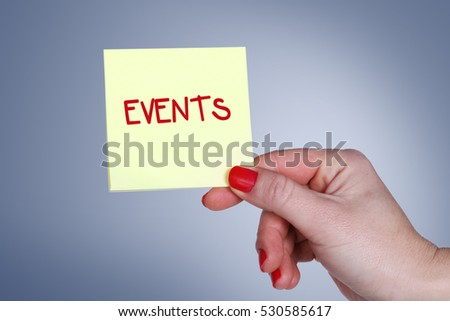 Events, Business Concept