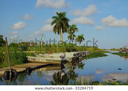 Everglades boat rental