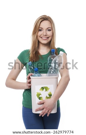 Every small step can help the environment - stock photo