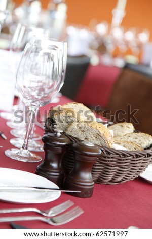 everything a table needs to get the tasting started - stock photo