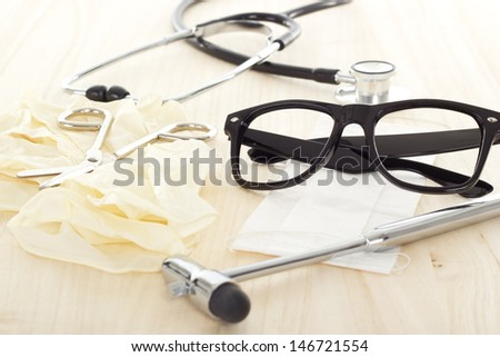 Everything is ready for the next patient - stock photo