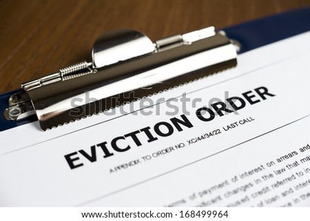 Eviction Order Document