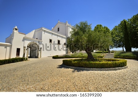 Evora - old monastery - stock photo