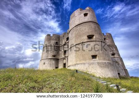 Evoramonte Castle, Portugal - stock photo