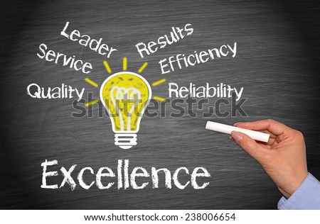 Excellence - Business Concept - stock photo