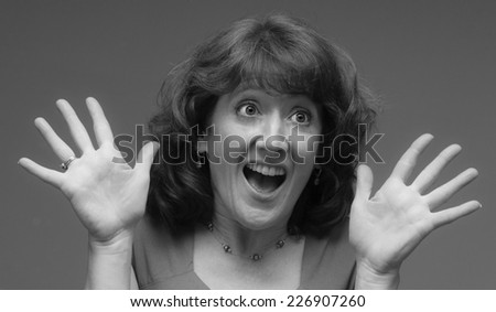 Excited Mature Woman