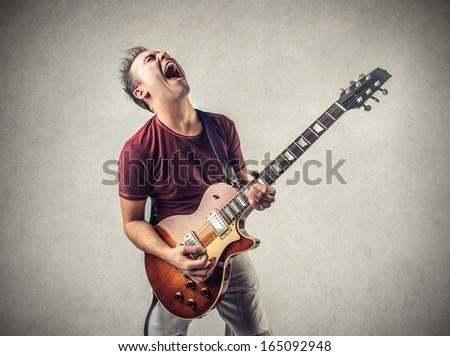 Exciting Music - stock photo
