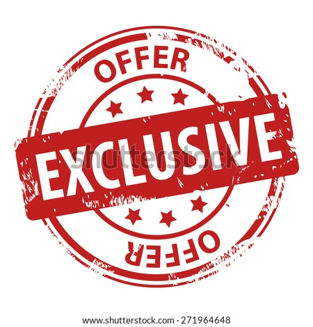 Exclusive Icon Exclusive Offer Stock ...