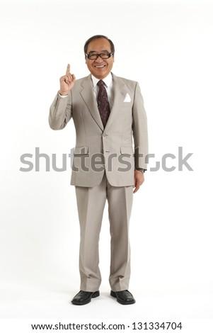 Executive Asians - stock photo