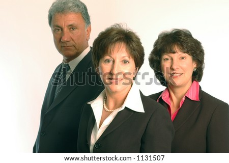 executive power team - stock photo