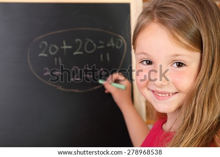 Exercise at the blackboard