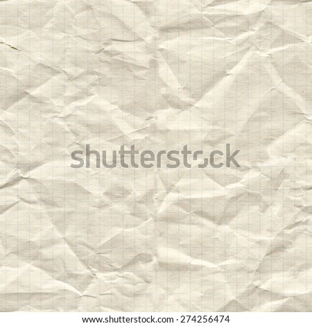 Exercise book in a cage. Seamless paper texture. - stock photo