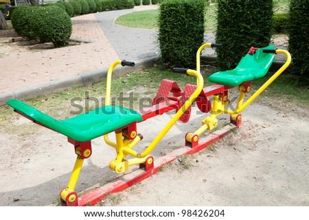 Exercise equipment - stock photo