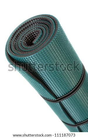 Exercise Mat, isolated over white background