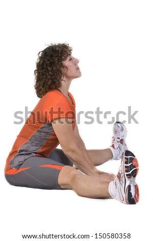 Exercising - stock photo