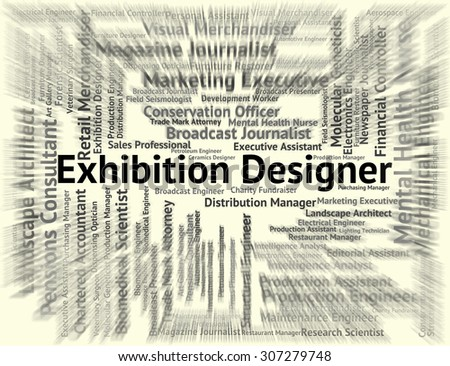 Exhibition Designer Meaning World Fair And Words