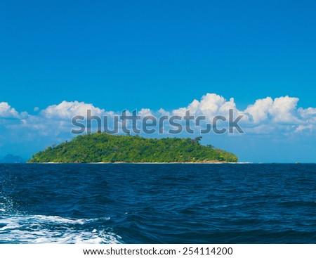 Exotic Getaway Marine Fantasy  - stock photo