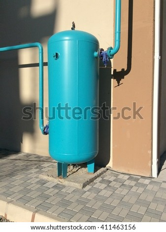 Expansion Tank Model Hot Work On Stock Photo (Royalty Free ...