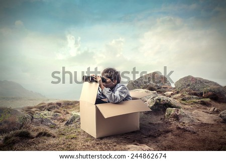 Explorer - stock photo