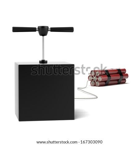 Explosive Dynamite - stock photo