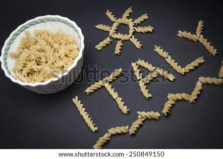 Expo 2015 Milan (Italy) - Pasta - stock photo