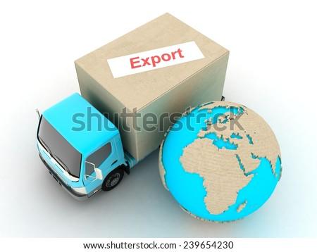 Export - stock photo