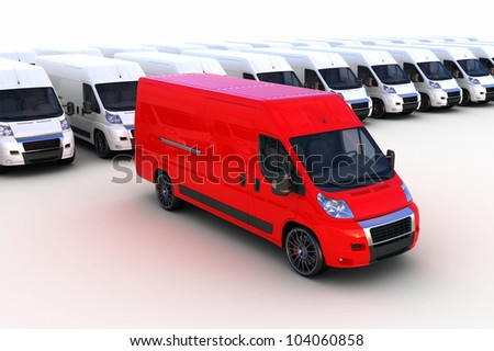 Express courier - stock photo