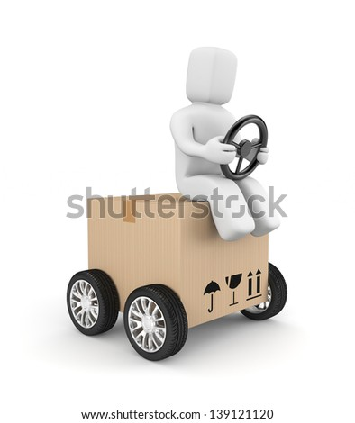 Express delivery - stock photo