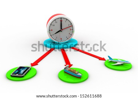 Express Delivery Concept - stock photo
