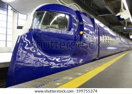 Express Rapit Of Nankai Namba Station - stock photo