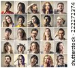 Expressions  - stock photo