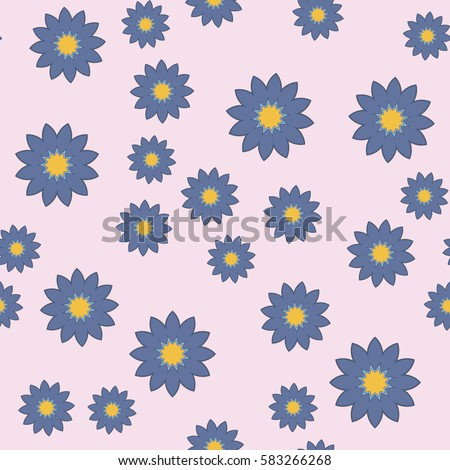 White daisies flower seamless pattern on stock vector 258830096 shutterstock - Photowallpaperexquisitedesignonotherdesignideas jpg ...