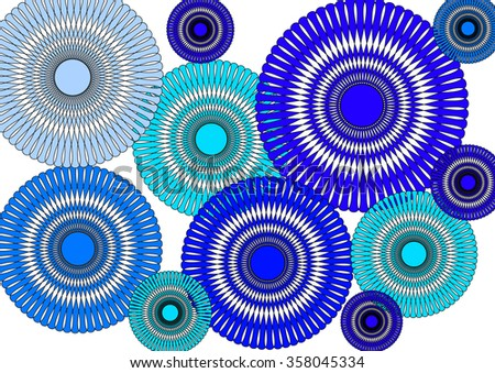 Abstract Background Effect Depth Stock Illustration 56708023 Shutterstock