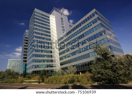 Corporate headquarters stock images royalty free images vectors shutterstock for Interior exterior building supply corporate office