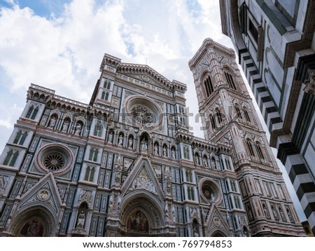 Exterior of cathedral of Florence