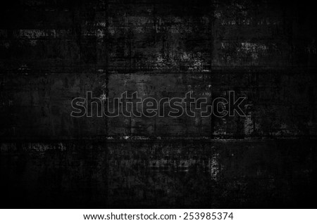 Extra Dark Background - stock photo