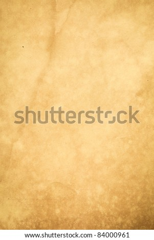 Extra large old grunge paper for your background - stock photo
