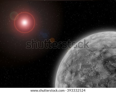 Extrasolar Planet Near Its Planetary System's Central Star