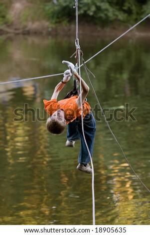 extreme boy - stock photo