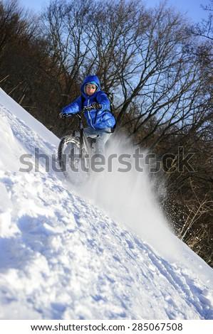 mountainbike snow winter extreme-#23