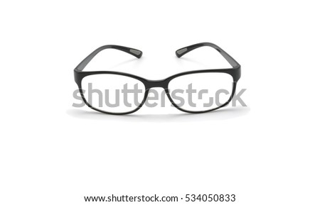 Eye black on white background