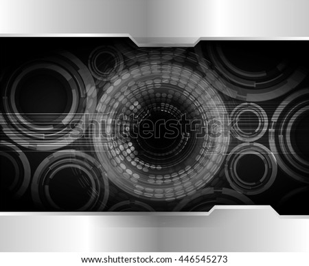 eye future technology, security concept background, Dark black cyber Light Abstract for computer graphic website internet. circuit. illustration. infographics. motion move. binary