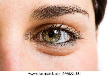 Eye of a beautiful woman