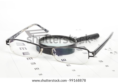 Eye sight - stock photo