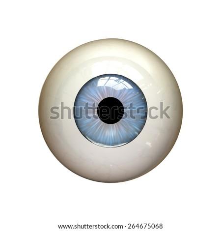 eyeball - stock photo