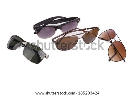 eyeglasses collection  - stock photo