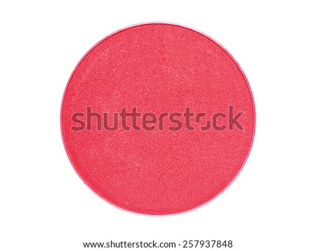 Eyeshadow color refill makeup cosmetics
