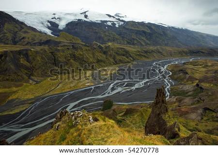 Eyjafjalla - Iceland - stock photo