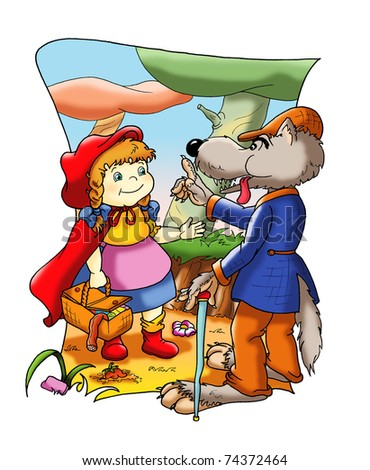 fable of Little Red Riding Hood